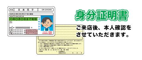 身分証明書